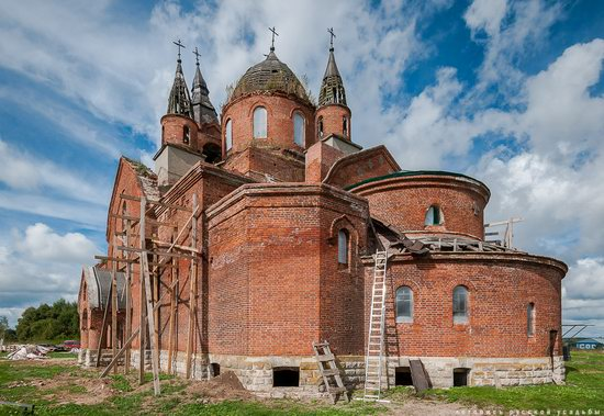 Vvedensky Church in Pet, Ryazan region, Russia, photo 8