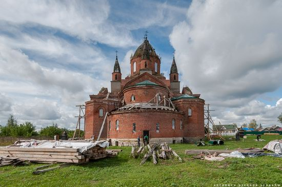 Vvedensky Church in Pet, Ryazan region, Russia, photo 9