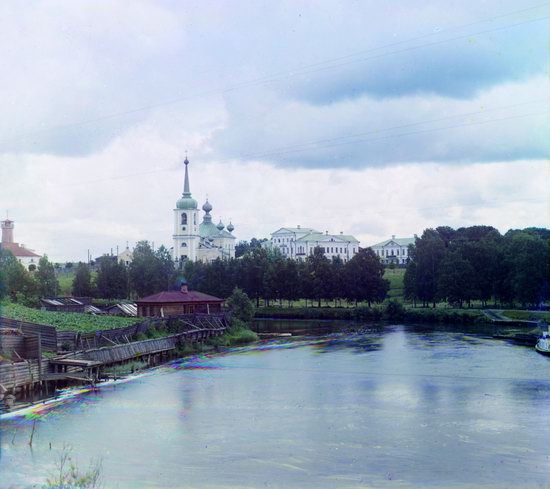 Vytegra, Russian Empire in color, photo 4