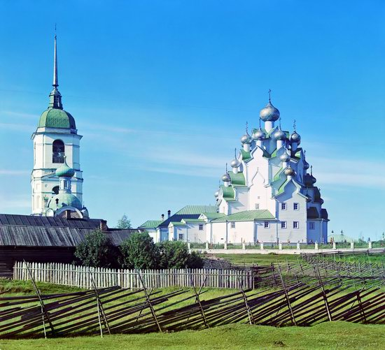 Vytegra, Russian Empire in color, photo 7