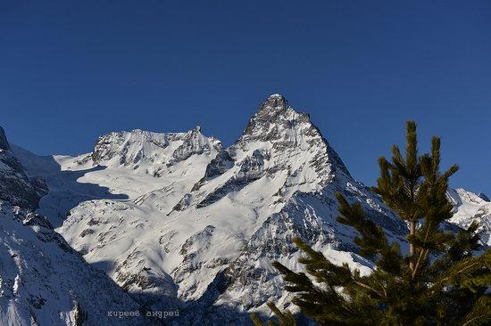 Dombay ski resort in the Caucasus, Russia, photo 1