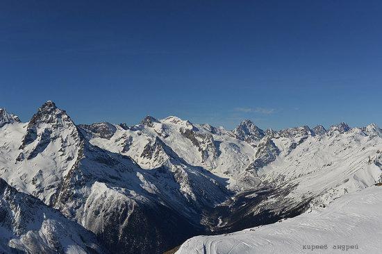 Dombay ski resort in the Caucasus, Russia, photo 12