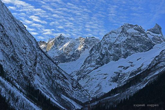 Dombay ski resort in the Caucasus, Russia, photo 14