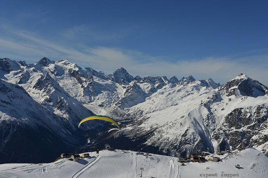 Dombay ski resort in the Caucasus, Russia, photo 17