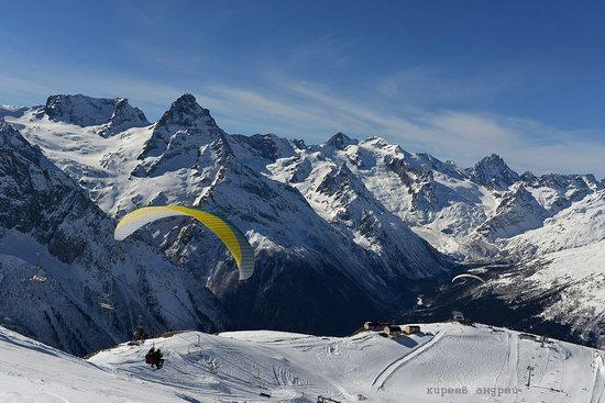 Dombay ski resort in the Caucasus, Russia, photo 18