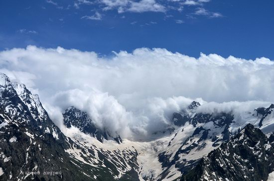 Dombay ski resort in the Caucasus, Russia, photo 2