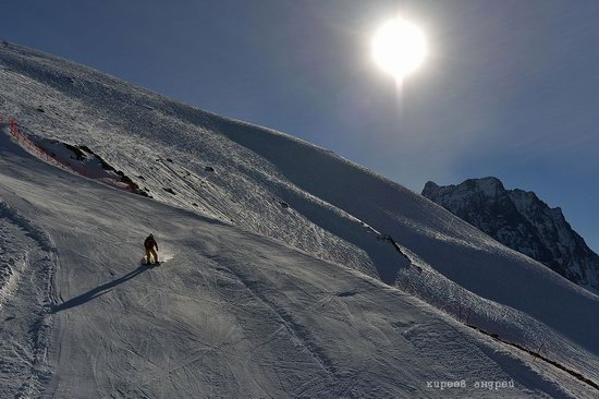 Dombay ski resort in the Caucasus, Russia, photo 7