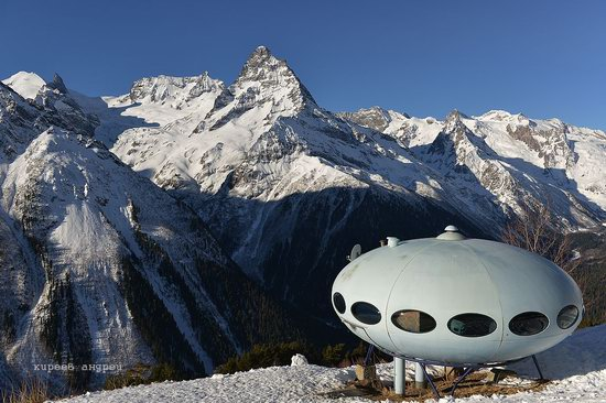 Dombay ski resort in the Caucasus, Russia, photo 9
