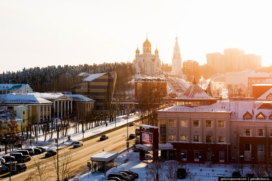 Khanty-Mansiysk, Russia - the view from above, photo 10