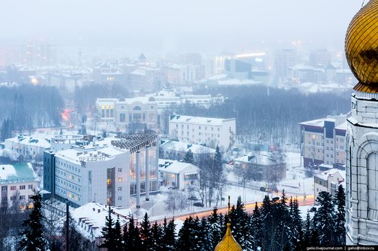 Khanty-Mansiysk, Russia - the view from above, photo 12