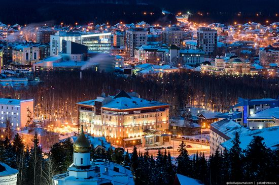 Khanty-Mansiysk, Russia - the view from above, photo 14