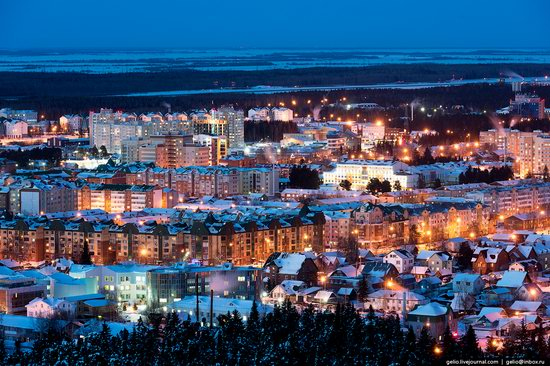 Khanty-Mansiysk, Russia - the view from above, photo 23