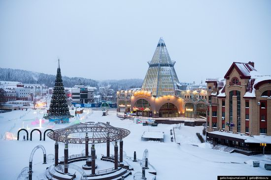 Khanty-Mansiysk, Russia - the view from above, photo 3