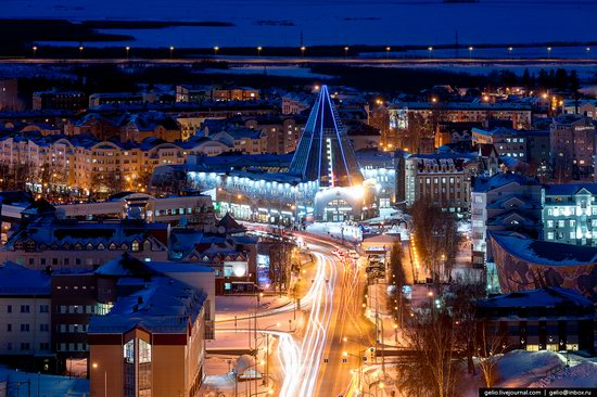 Khanty-Mansiysk, Russia - the view from above, photo 4