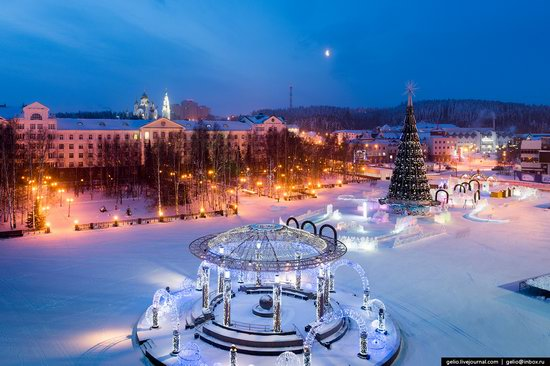 Khanty-Mansiysk, Russia - the view from above, photo 8