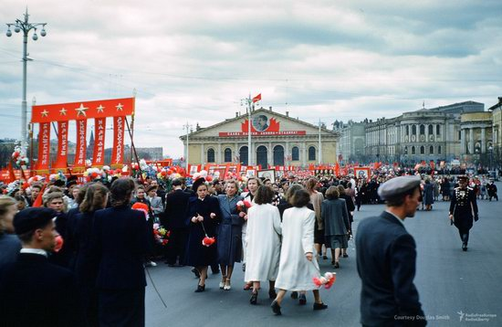 Stalin's Soviet Union - Moscow in 1953-1954, photo 27
