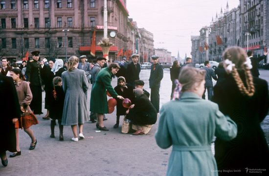 Stalin's Soviet Union - Moscow in 1953-1954, photo 28