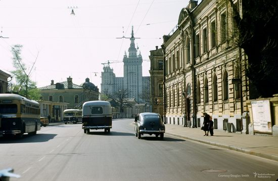 Stalin's Soviet Union - Moscow in 1953-1954, photo 8