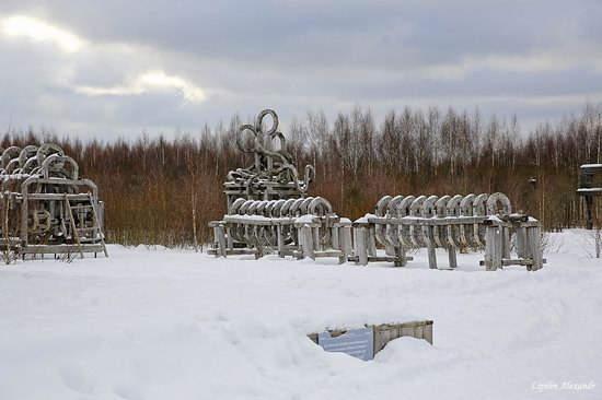 Winter in the Art Park Nikola-Lenivets, Russia, photo 10
