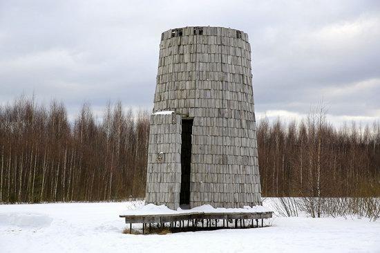 Winter in the Art Park Nikola-Lenivets, Russia, photo 11