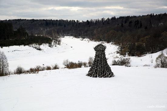 Winter in the Art Park Nikola-Lenivets, Russia, photo 14