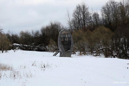 Winter in the Art Park Nikola-Lenivets, Russia, photo 15