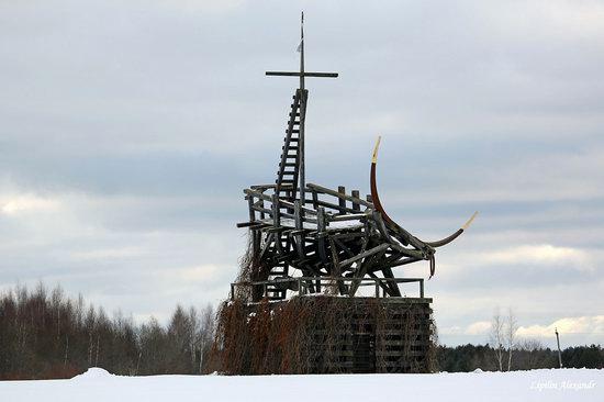 Winter in the Art Park Nikola-Lenivets, Russia, photo 17