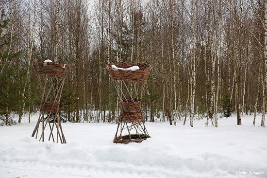 Winter in the Art Park Nikola-Lenivets, Russia, photo 18