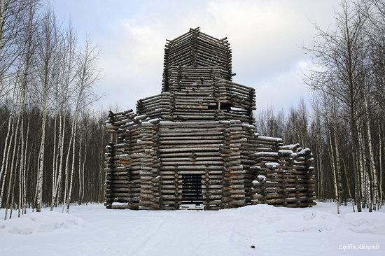 Winter in the Art Park Nikola-Lenivets, Russia, photo 22