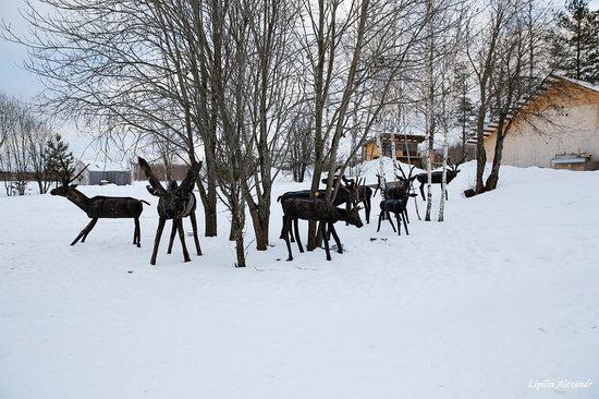 Winter in the Art Park Nikola-Lenivets, Russia, photo 24