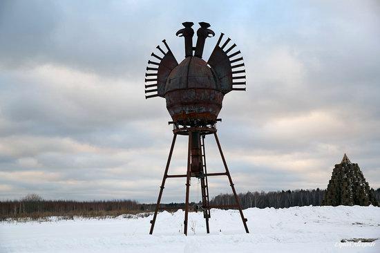 Winter in the Art Park Nikola-Lenivets, Russia, photo 26