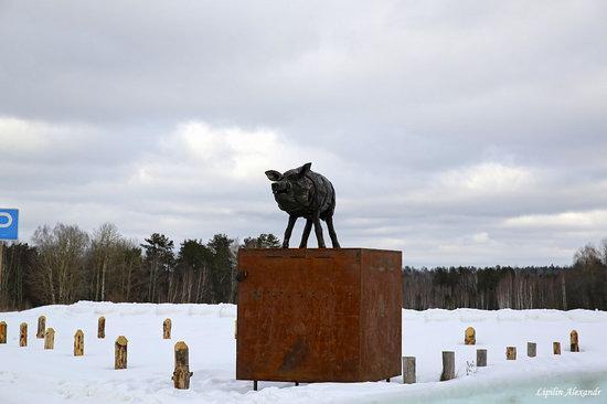 Winter in the Art Park Nikola-Lenivets, Russia, photo 3