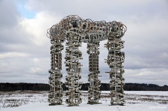 Winter in the Art Park Nikola-Lenivets, Russia, photo 5