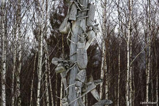 Winter in the Art Park Nikola-Lenivets, Russia, photo 6
