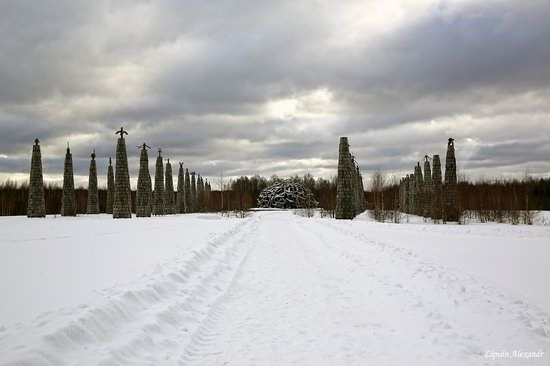 Winter in the Art Park Nikola-Lenivets, Russia, photo 7