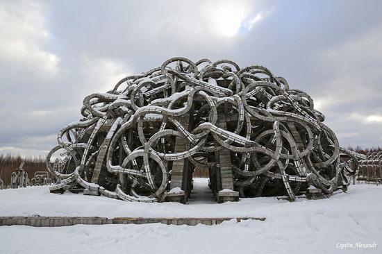Winter in the Art Park Nikola-Lenivets, Russia, photo 9