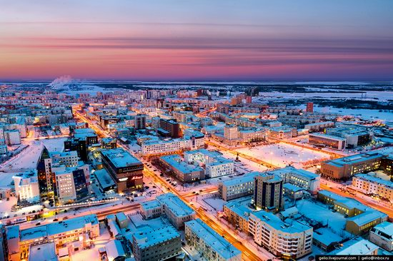 Yakutsk, Russia - the view from above, photo 1