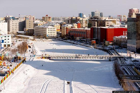 Yakutsk, Russia - the view from above, photo 10
