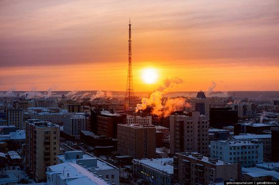 Yakutsk, Russia - the view from above, photo 15