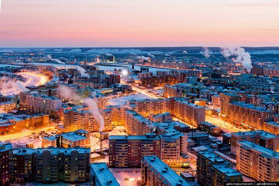 Yakutsk, Russia - the view from above, photo 18