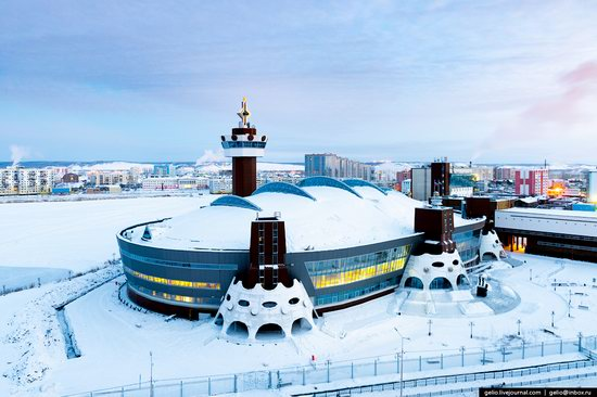 Yakutsk, Russia - the view from above, photo 19