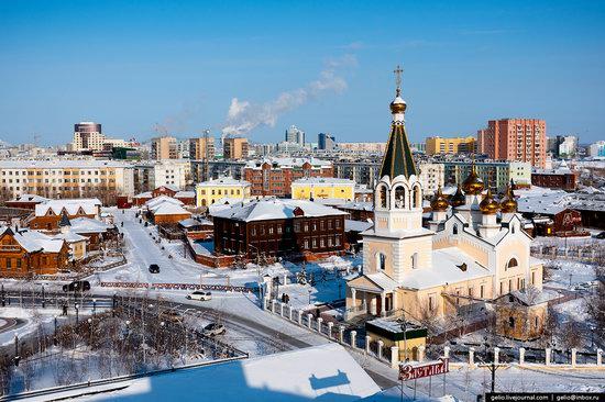 Yakutsk, Russia - the view from above, photo 2