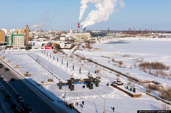 Yakutsk, Russia - the view from above, photo 22