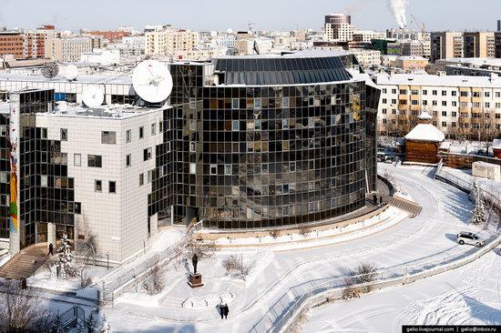 Yakutsk, Russia - the view from above, photo 24