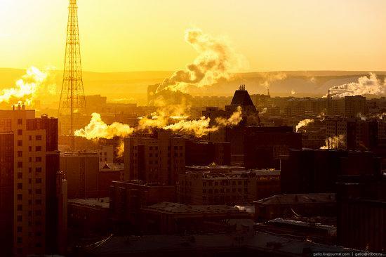 Yakutsk, Russia - the view from above, photo 26