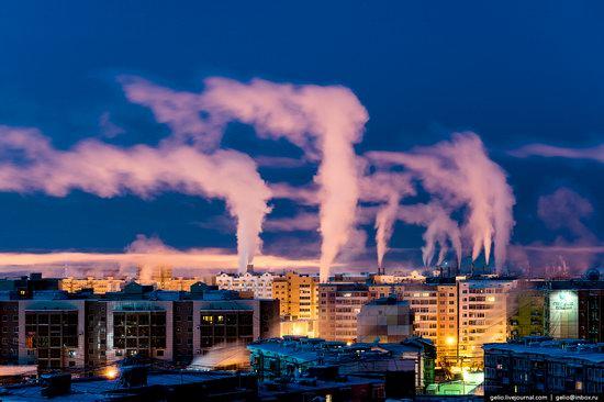 Yakutsk, Russia - the view from above, photo 27