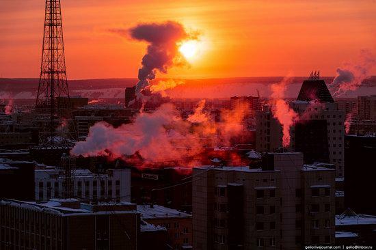 Yakutsk, Russia - the view from above, photo 28