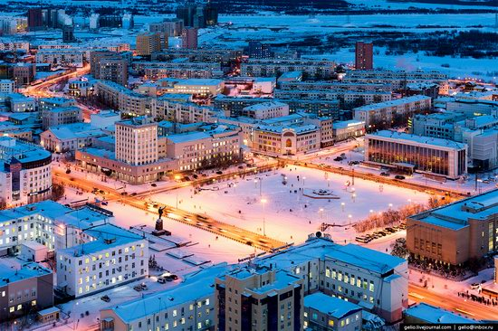 Yakutsk, Russia - the view from above, photo 4