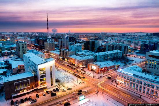 Yakutsk, Russia - the view from above, photo 6