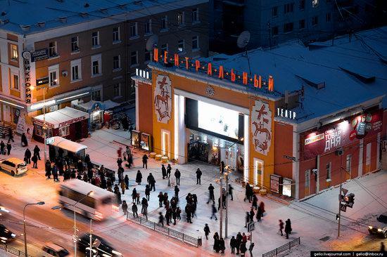 Yakutsk, Russia - the view from above, photo 7